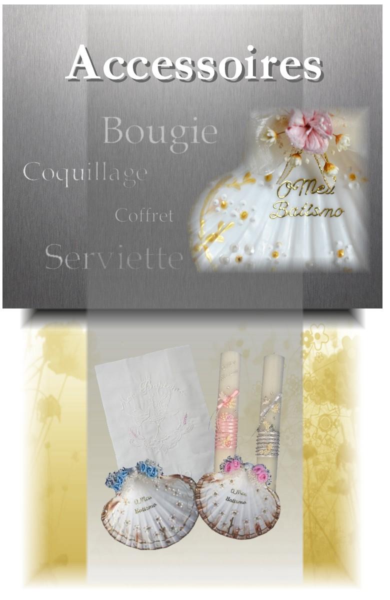 Boutique La Melinda ceremonie de bapteme accessoires