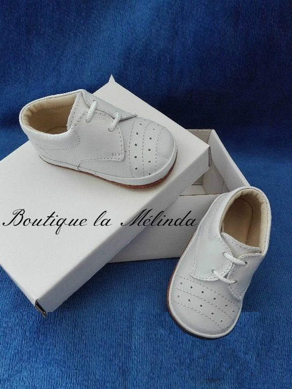 achat authentique En liquidation boutique de sortie chaussure cuir baptême, baptême chaussure, chaussure blanche ...