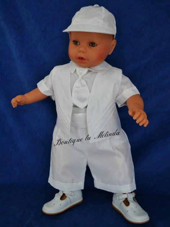 Costume ceremonie bapteme blanc alexandre bapteme portugais boutique portu - Couleur bapteme garcon ...