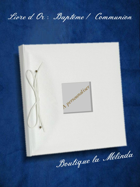 Livre D 39 Or Bapteme Ou Communion Boutique La Melinda Album