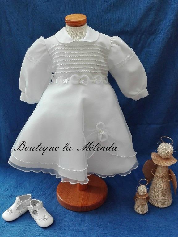 beaucoup à la mode Réduction 100% qualité garantie robe baptême, cérémonie baptême, cérémonie blanc, vêtement ...